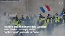 French Health Minister Weighs In On Riots: 'Yellow Vests' Have Been Infiltrated