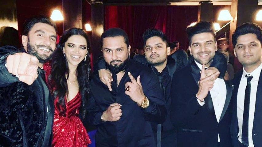Deepika & Ranveer Reception: Honey Singh seen enjoying at DeepVeer's B-Town Bash | Boldsky
