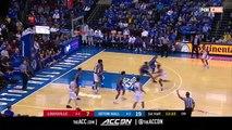 Louisville vs. Seton Hall Basketball Highlights (2