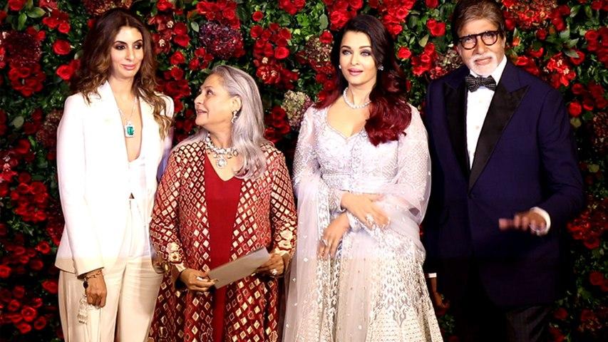 Deepika & Ranveer Reception: Aishwarya Rai looks like a goddess in her shimmery dress | Boldsky
