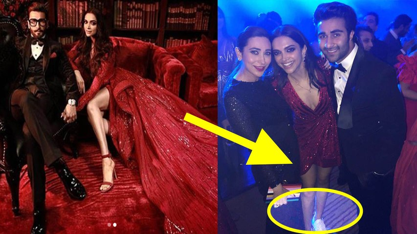 Deepika & Ranveer Reception: Deepika switches to white sneakers to dance for the party | Boldsky