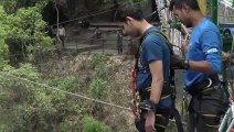 Bungy Jumping in nepal  Scary moment