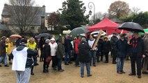 Manifestation contre la commune nouvelle