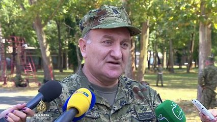 Pripreme za vojnu paradu povodom godišnjice 'Oluje'