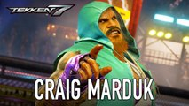 Tekken 7 - Trailer  de personnage Craig Marduk
