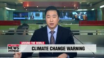 "UN climate chief urges nations to act to tacke ""urgent threat"" of climate change"