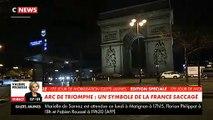 Morandini Zap - Gilets jaunes: Les dégâts à l'intérieur et à l'extérieur de l'Arc de Triomphe pourraient coûter... 1 million d'euros ! - VIDEO