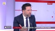 Hugues Renson : « Je suis très attaché à ce qu'on maintienne le cap »