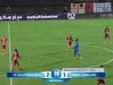 (J15) Villefranche 2 - 1 Laval, le résumé