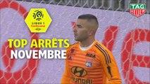 Top arrêts Ligue 1 Conforama - Novembre (saison 2018/2019)