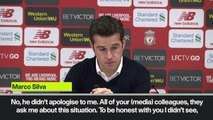 Eng Sub: Silva denies Klopp apologised for goal celebration after Everton's loss at Liverpool