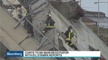 Genoa Bridge Reconstruction to Take 12-15 Months, Mayor Says