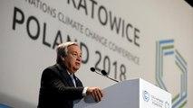 """Guterres: """"Avanzamos lentos y en la mala dirección para frenar el cambio climático"""""""