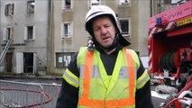 Incendie à la  mairie Saint-Cirgues-en-Montagne Le DL SG (1)