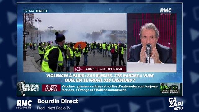 Manifestation des Gilets jaunes : une préfecture incendiée, un manifestant à la main arrachée