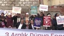 Bayrampaşa'da Engelli Vatandaşlar Farkındalık İçin 'Engelsiz Yürüyüş' Gerçekleştirdi