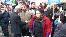 Bayrampaşa'da engelli vatandaşlar farkındalık için 'Engelsiz Yürüyüş' gerçekleştirdi