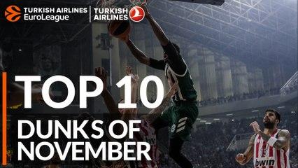 Top 10 Dunks of November