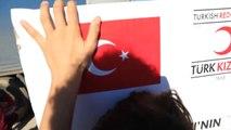 Türk Kızılayından Irak'taki Ezidi Göçmenlere Yardım