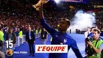 Paul Pogba (Manchester United) 15e - Foot - Ballon d'Or