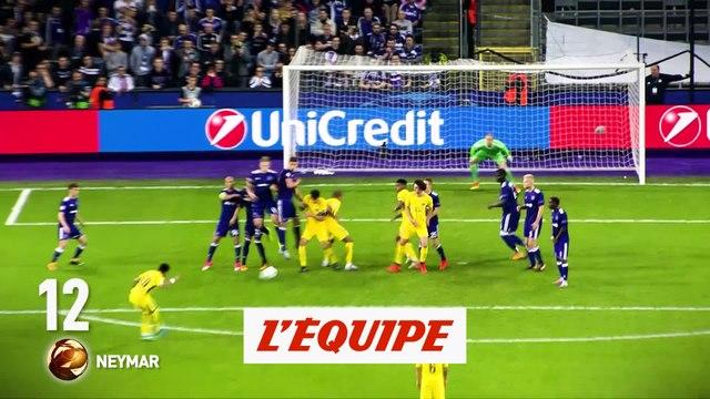 Neymar (Paris-SG) n'est que 12e - Foot - Ballon d'Or