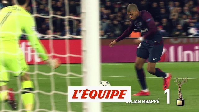 Kylian Mbappé (PSG) couronné - Foot - Trophée Kopa France Football 2018