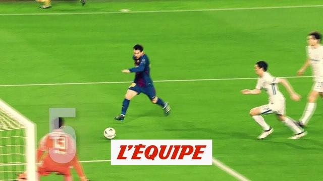Lionel Messi (FC Barcelone) en 5ème position - Foot - Ballon d'Or