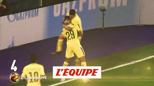 Kylian Mbappé (PSG) échoue au pied du podium - Foot - Ballon d'Or