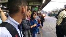 Falta de ônibus gera confusão em terminal em Vila Velha