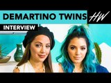 Niki & Gabi DeMartino Tell The Truth About Being BULLIED In Middle School | Hollywire
