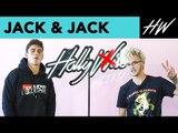 Jack Gilinsky & Jack Johnson Of Jack & Jack tell us their WEIRDEST DATE story  | Hollywire