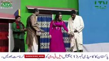 Pakistani Stage Dramas Most Funny Scenes - Jiya Butt Hot Scene on Stage Theater 2018