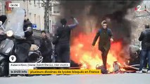 Gilets jaunes : Des centaines de jeunes bloquent plusieurs dizaines de lycées à travers la France