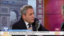 """Xavier Bertrand: """"Relever l'âge de la retraite aurait permis d'éviter de ne pas indexer les pensions des retraités"""""""