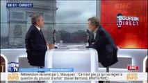 """La France en danger ? Xavier Bertrand répond qu'il est """"tard mais il n'est pas encore trop tard"""""""