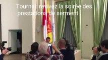Tournai: prestations de serment