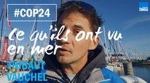 COP 24 : Ce que Thibaut Vauchel a vu en mer