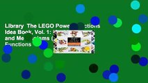 Library  The LEGO Power Functions Idea Book, Vol. 1: Machines and Mechanisms (Lego Power Functions