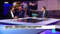 Brexit : Theresa May en danger face au parlement britannique