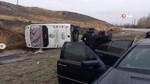 Bala'da Cenaze Dönüşü Kaza: 17 Yaralı