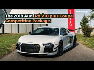 2018 Audi R8 Competition Package: Engage Gusto, Destroy Subtlety