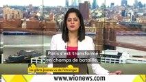 """""""Gilets jaunes"""" : les affrontements à Paris vus par les télévisions internationales"""