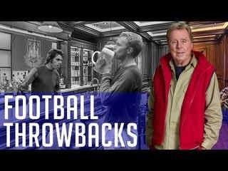 Harry Redknapp & Bobby Moore on the LASH! | Football Throwbacks