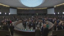 Dışişleri Bakanı Çavuşoğlu, NATO Dışişleri Bakanları Toplantısı'nda