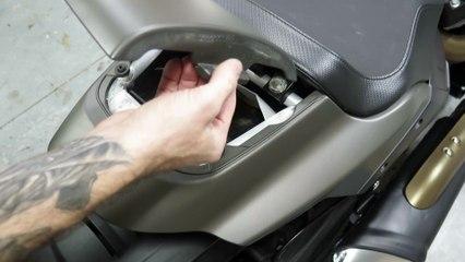 2019 Harley-Davidson FXDR 114 Seat Removal
