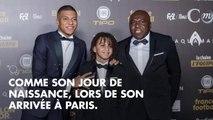 PHOTOS. Venu avec son père et son frère, Kylian Mbappé ne termine que quatrième du Ballon d'Or 2018