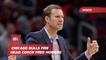 The Bulls Dump Their Head Coach