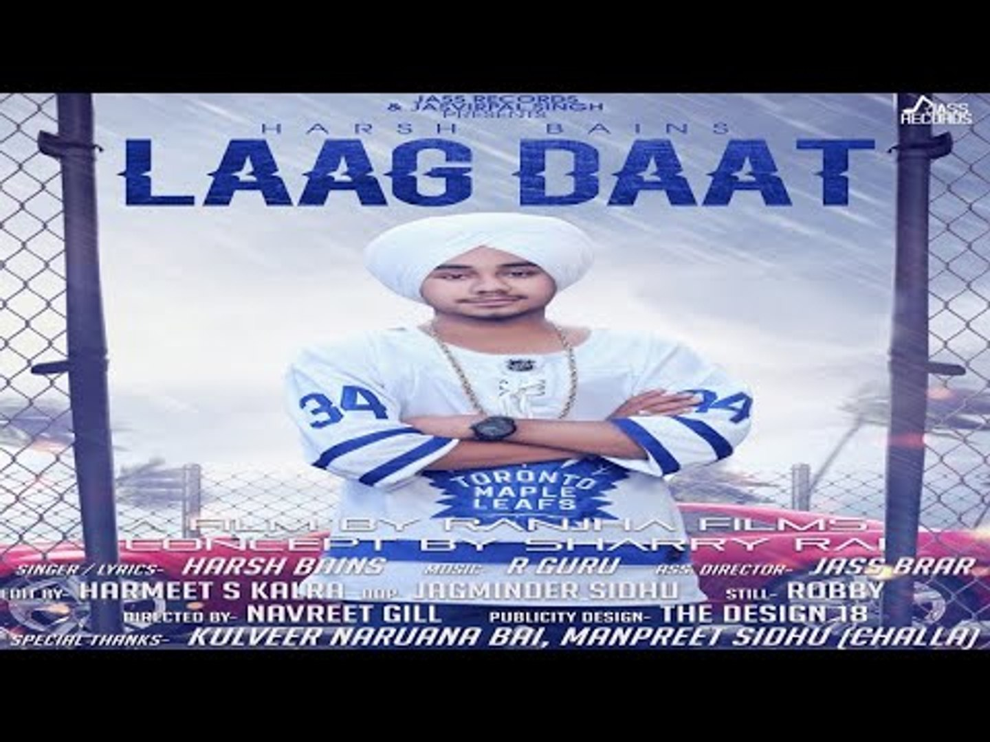 Laag Daat  | (FULL HD) | Harsh Bains | New Punjabi Songs 2018 | Latest Punjabi Songs 2018