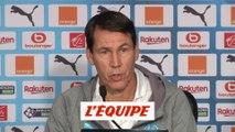 Garcia «Si on avait gagné contre Reims, on devrait lutter contre l'euphorie» - Foot - L1 - OM