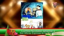Luzmila Nicolalde defiende a Don Alfonso Espinosa de los Monteros